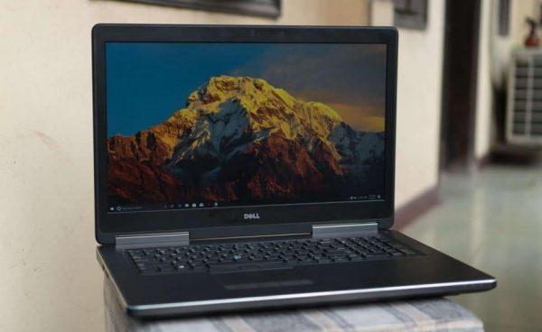 Dell Precision M7720 Xeon E3 1535M V6 Ram 32G SSD 512 GB– 17.3″UHD – P5000