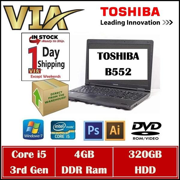 Laptop Toshiba B552 Hàng Nội Địa Nhật Core i5