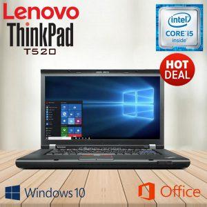 Lenovo thinkpad T520 màn hình 15,6 HD ram 4GB, SSD 128GB