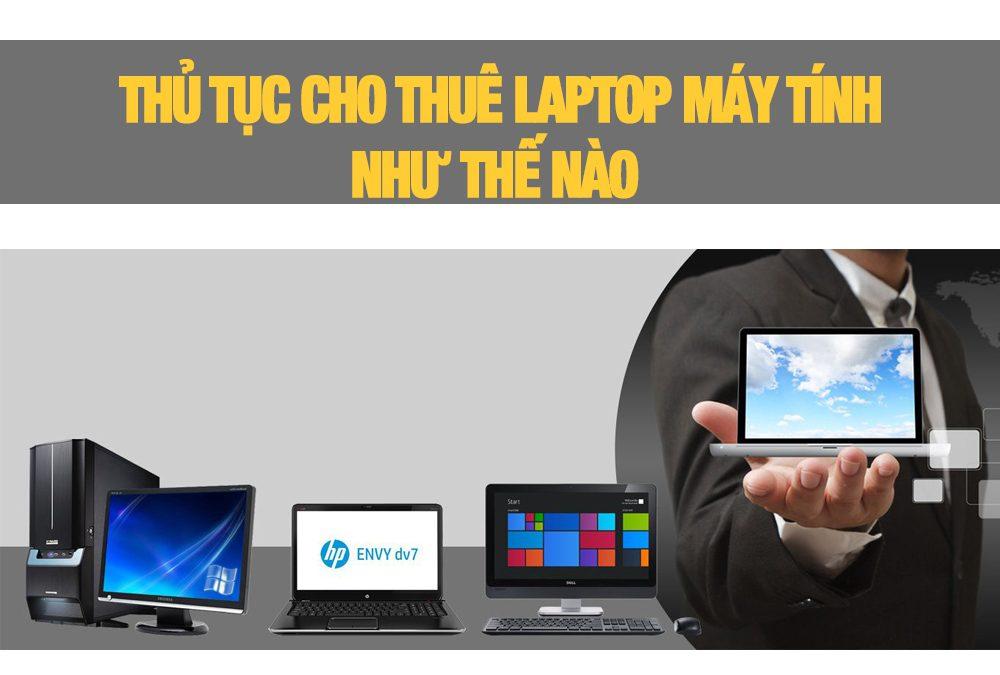 cho thuê laptop