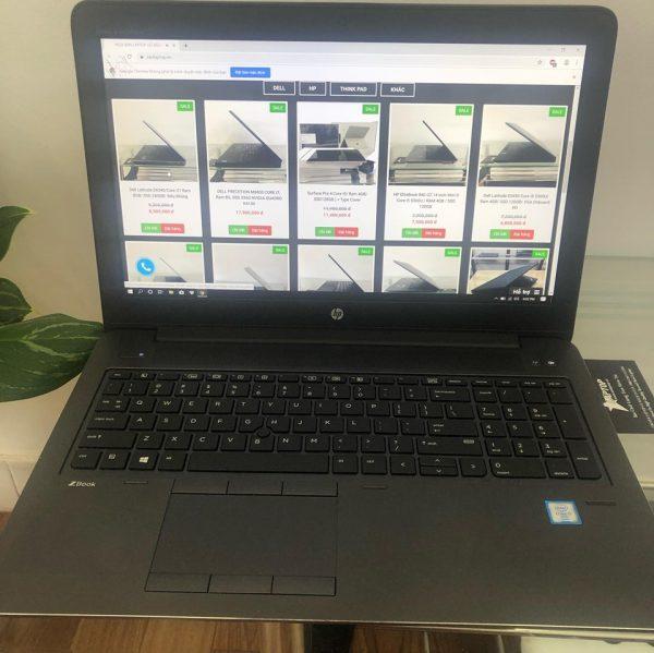 Laptop HP zbook 15 G3 RAM 8 GB/ SSD 256GB/ 15.6″ FHD/ CARD NVIDIA QUADRO M1000M