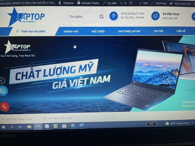 Laptop Xách Tay Uy Tín